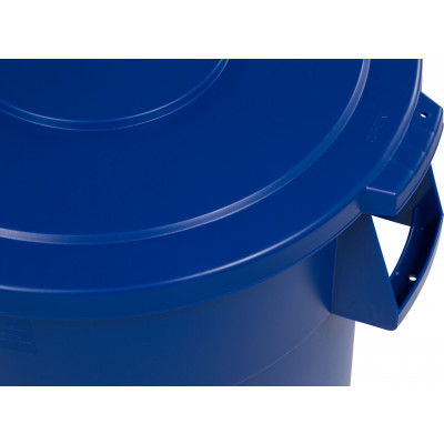 Bronco™ Round Waste Bin Food Container Lid, 44 Gallon