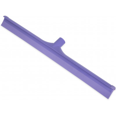 "24"" One-Piece Rubber Squeegee with Plastic Frame"