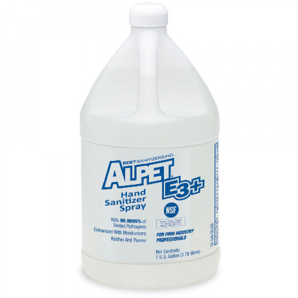 Alpet® E3 Plus Hand Sanitizer One Gallon Bottle